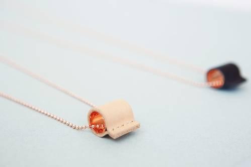 Tube Copper Necklace