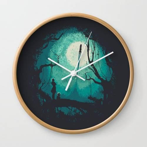 After Cosmic War Wall Clock