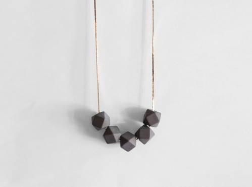 Delta Slate Necklace