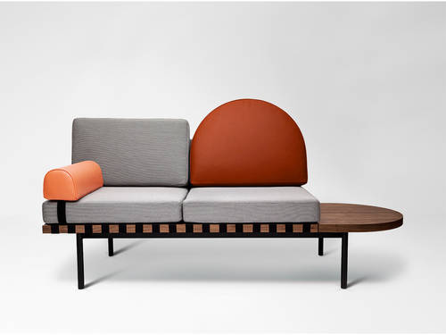Grid Sofa / Daybed