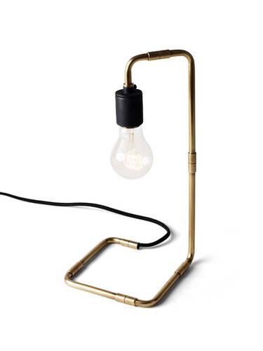 Tribeca Reade Table Lamp in Brass