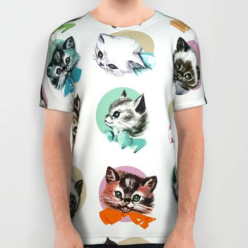 Cats & Bowties Tee Shirt