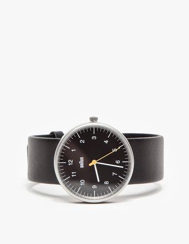 Braun watch / BN0021 in Black