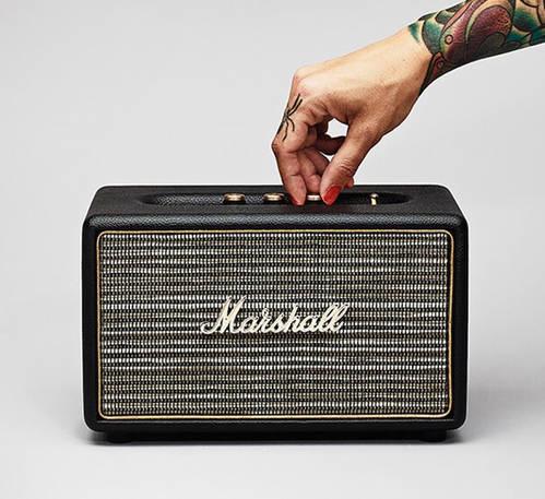 Acton Black Bluetooth Speaker