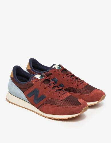 New Balance / 620 in Red/Grey Shoes