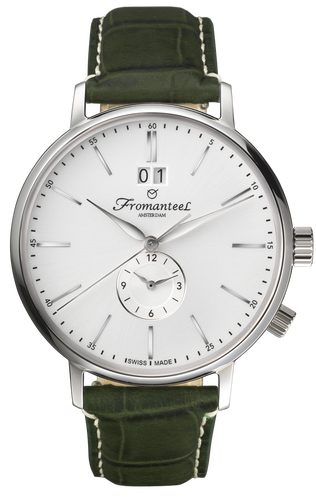 Fromanteel Generations Series Twin Time White Watch