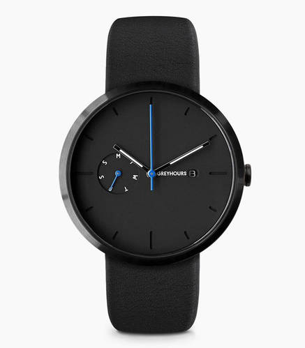 Greyhours Essential Watch - Black