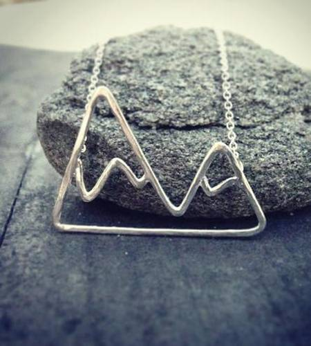 Mountain Sterling Silver Necklace