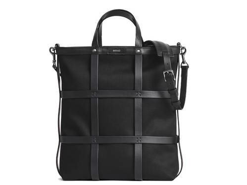 M/S Grid Shopper Tote Bag