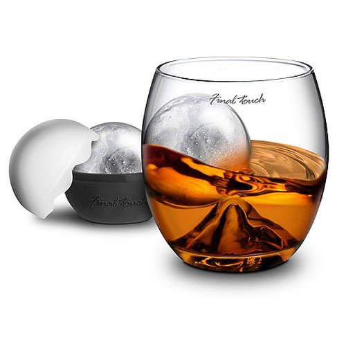 On the Rock Glass and Ice Ball